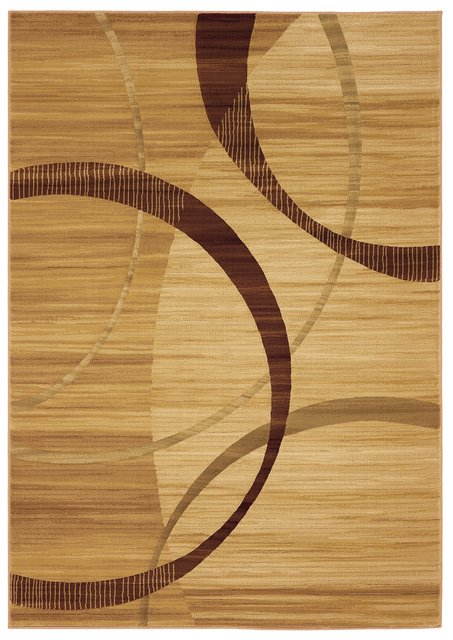 828 Laguna Collection LG24 Cream-Brown Area Rug