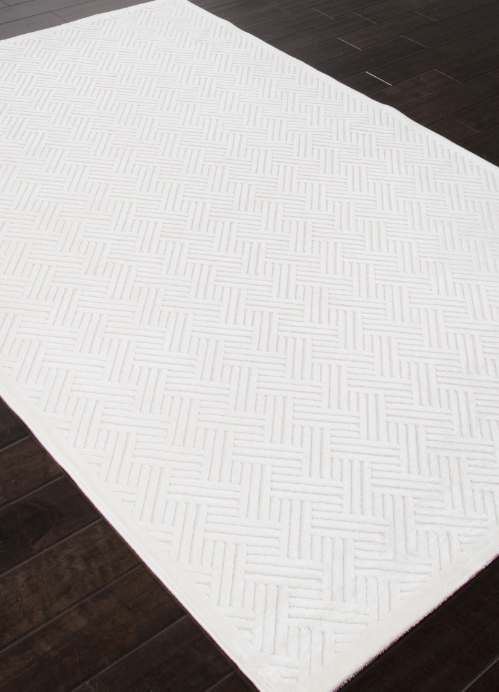 Addison And Banks Machine Made Abr0989 White Area Rug| Size| 2 x 3 - 103470x2