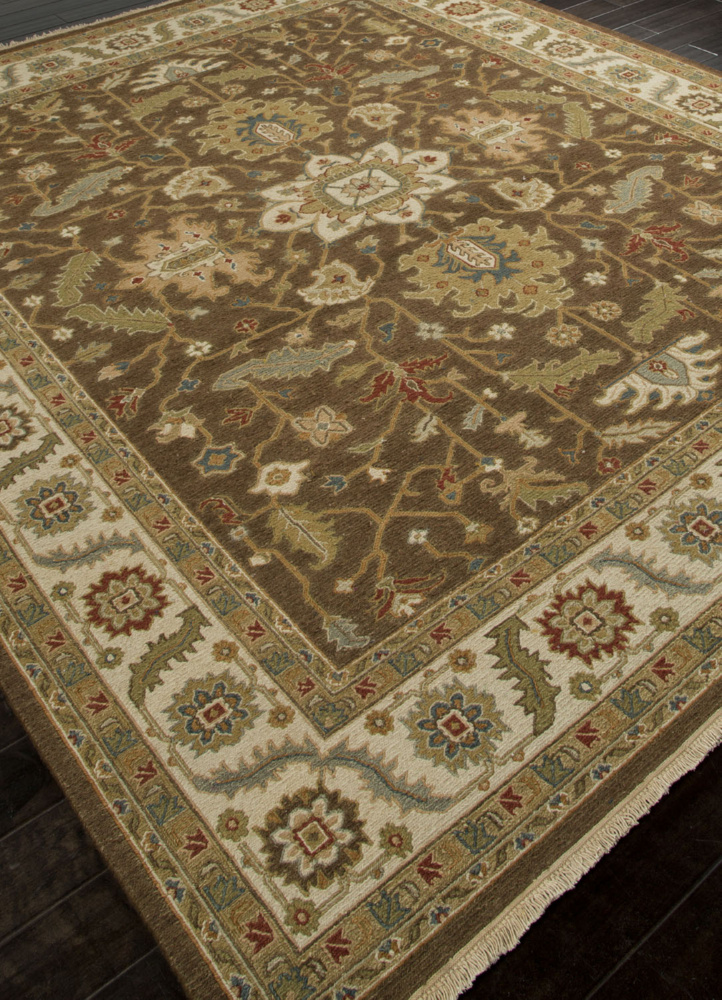 Addison And Banks Hand Knotted Abr1139 Cocoa Brown Area Rug Clearance| Size| 2 x 3 - 103620x1