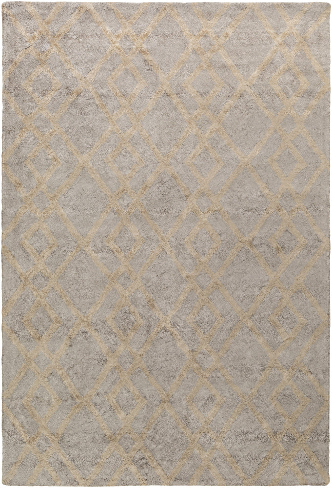 Surya Silk Valley Lila Gray - Beige Area Rug Clearance| Size| 3' x 5' - 137573x6