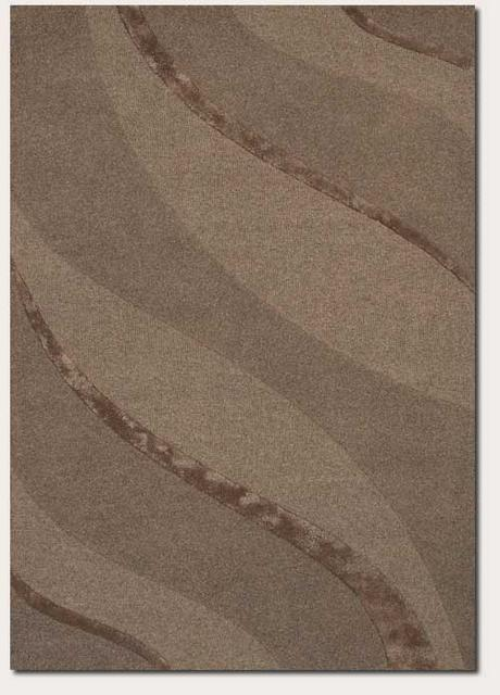 Rugstudio Famous Maker 39609 Taupe Area Rug Last Chance - 39609
