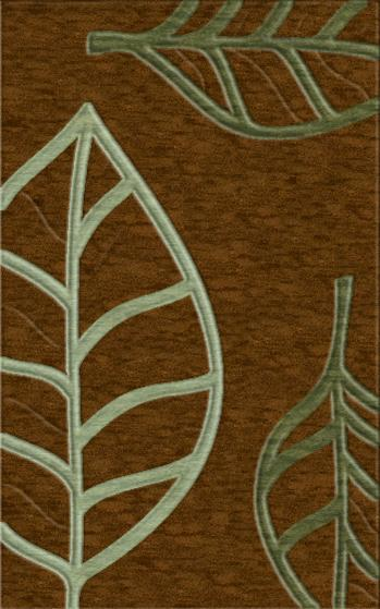 Rugstudio Riley DL13 Caramel-Fern-Seaglass Area Rug