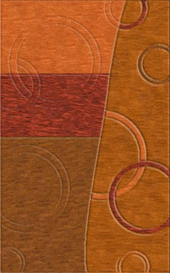 Rugstudio Riley DL14 Coral-Rich Red-Paprika-Spice Area Rug - 37498