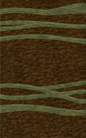 Rugstudio Riley DL15 Mocha-Fern Area Rug - 37391