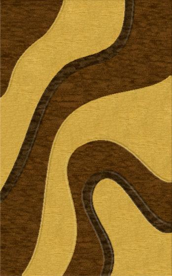 Rugstudio Riley DL16 Caramel-Golddust-Mocha Area Rug - 37377