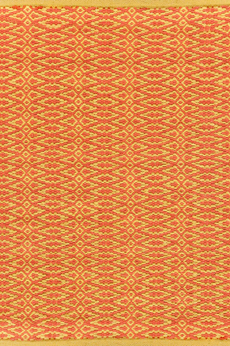 Dash And Albert Fair Isle 72656 Paprika-Curry Area Rug Last Chance| Size| 2'5 x 8 Runner - 72656x1