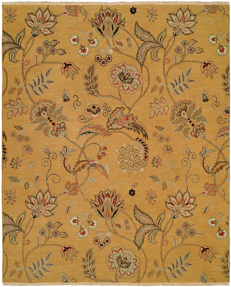 Famous Maker Cassia 100821 Yellow Area Rug| Size| 2' x 3' - 64088x4