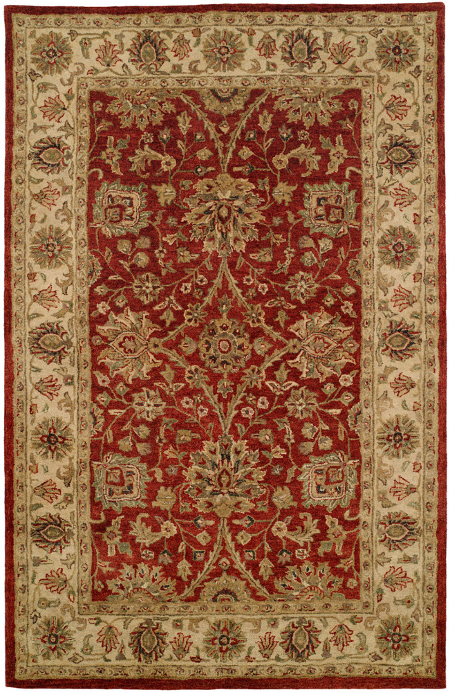 Kalaty Empire EM-281 Red-Ivory Area Rug| Size| 2'6'' x 10' Runner - 64096x2