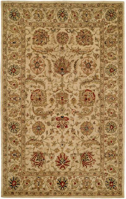 Kalaty Empire EM-285 Ivory Area Rug| Size| 2' 6'' X 10' Runner - 23968x8