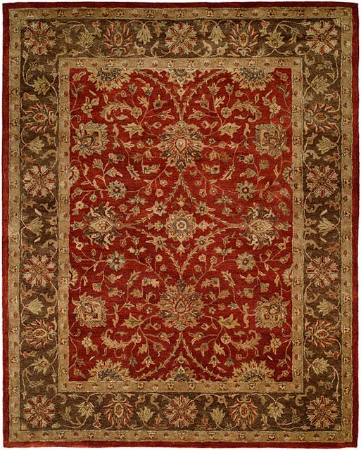Kalaty Empire EM-289 Rust-Brown Area Rug| Size| 4' Round - 23972x9