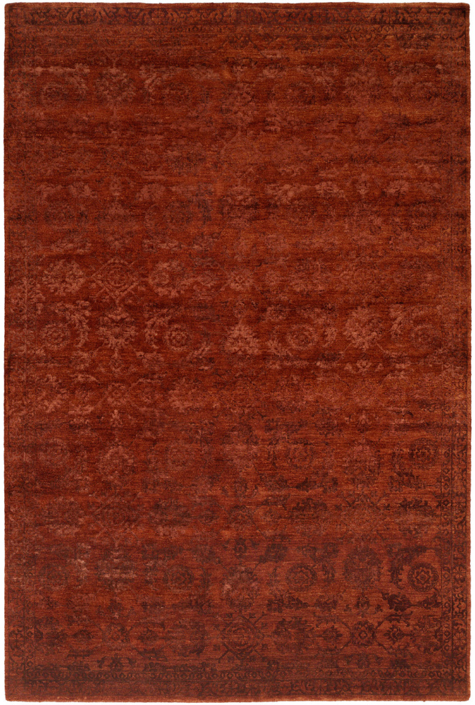 Famous Maker Niran 100932 Red Area Rug| Size| 2' x 3' - 64137x3
