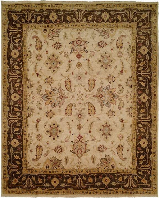 Famous Maker Oushak 529 Brown Area Rug - 20573
