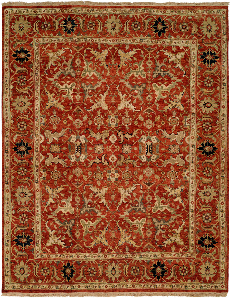 Famous Maker Pastire 100984 Red Area Rug Last Chance| Size| 2' x 3' - 64185x4