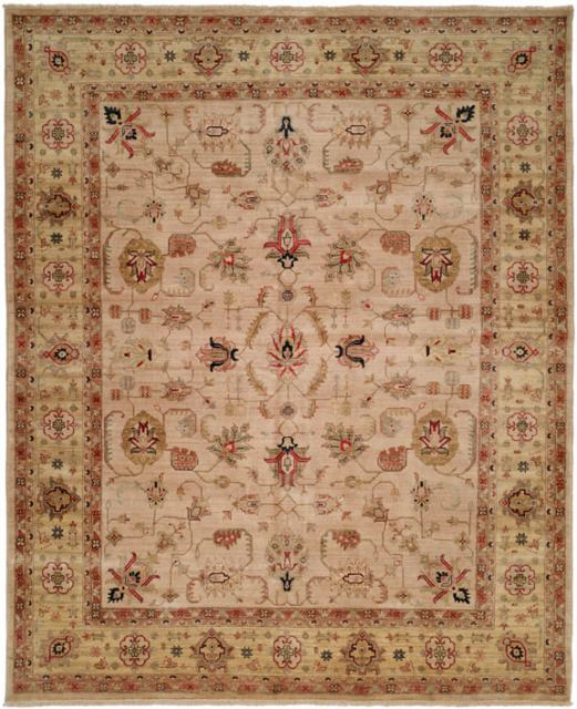 Kalaty Bashir Ba-585 Ivory-Light Gold Area Rug Clearance