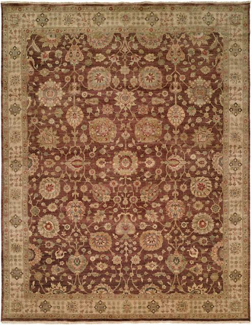 Kalaty Bashir Ba-587 Brown-Ivory Area Rug Clearance