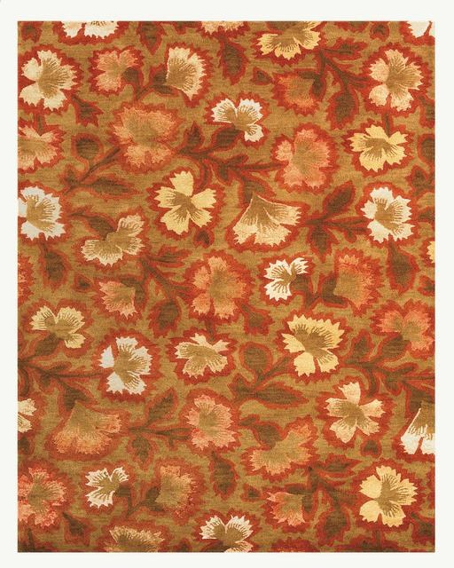 Rugstudio Famous Maker 39457 Chocolate-Cherry Area Rug Last Chance