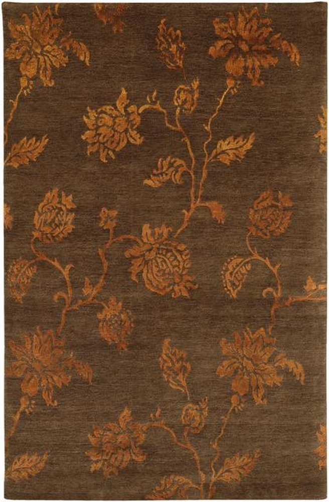 Rugstudio Famous Maker 39507 Brown Area Rug Last Chance - 39507