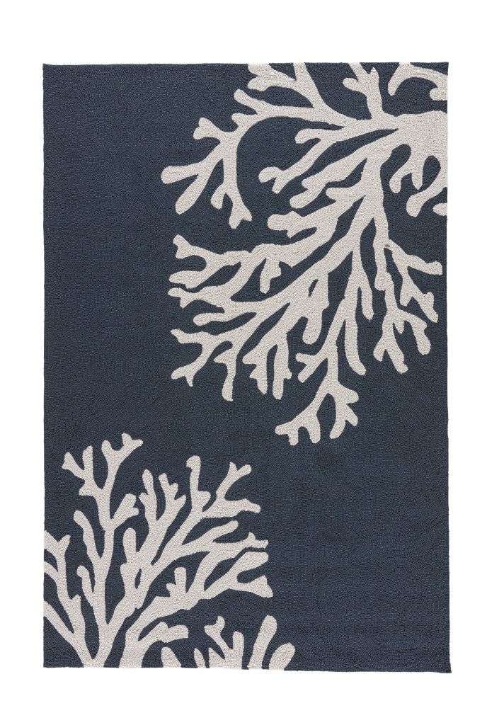 Jaipur Living Grant I-O Bough Out Gd48 Blue Nights - Birch Area Rug| Size| 2' x 3' - 109727x1