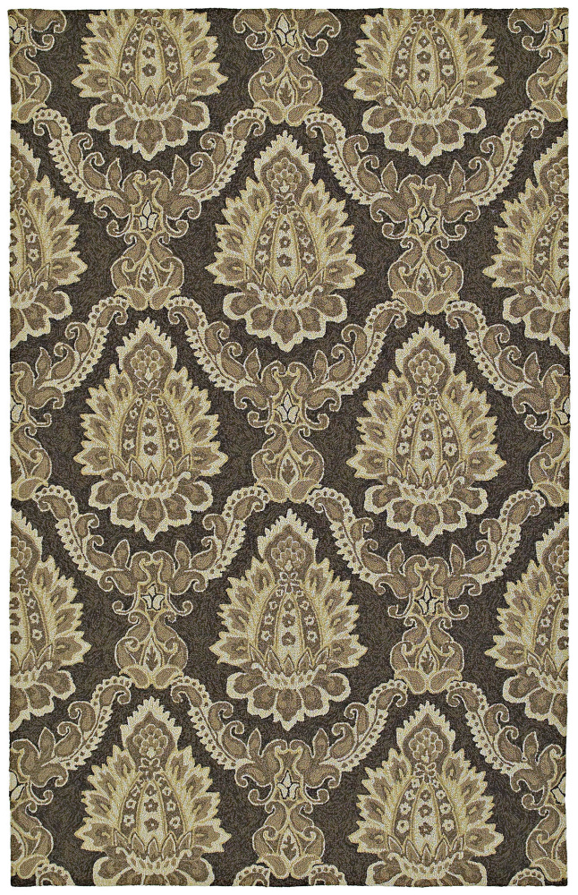 Kaleen Home and Porch Cedar Hamock Brown 2015-49 Area Rug| Size| 2' X 3' - 28883x1