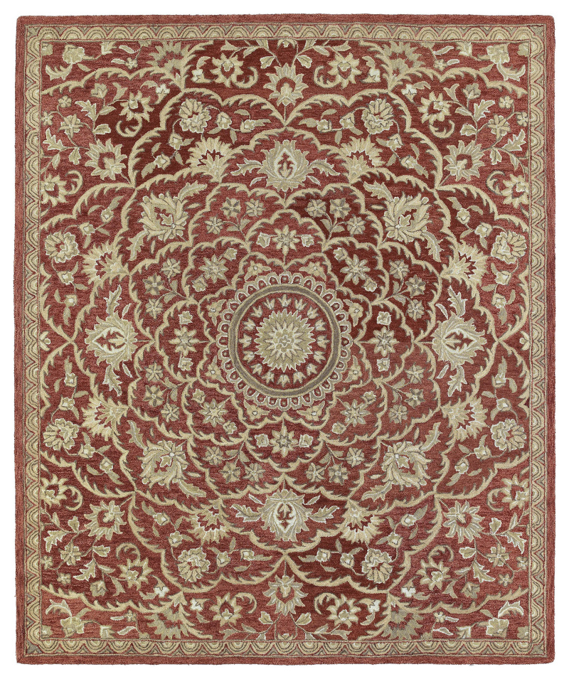 Kaleen Solomon 4055-25 Red Area Rug| Size| 2' x 3' - 100344x2