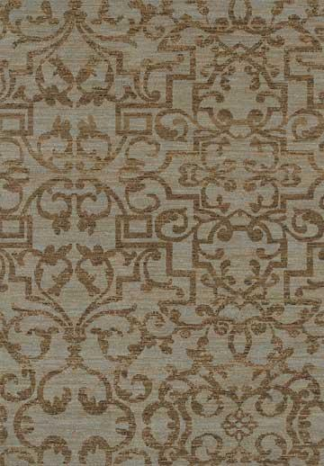 Karastan Sierra Mar French Quarter Bluestone Area Rug