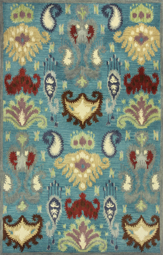 Kas Tapestry 6811 Blue Area Rug Clearance| Size| 3'3'' x 5'3'' - 89123x2