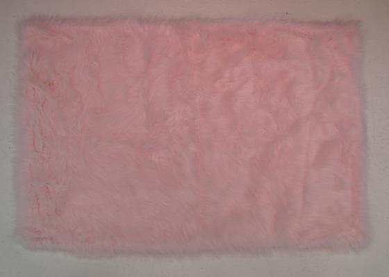 Fun Rugs Flokati LIGHT PINK FLK-010 Light Pink Area Rug
