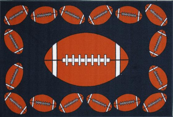 Fun Rugs Fun Time FOOTBALL TIME FT-92 Multi Area Rug - 42669