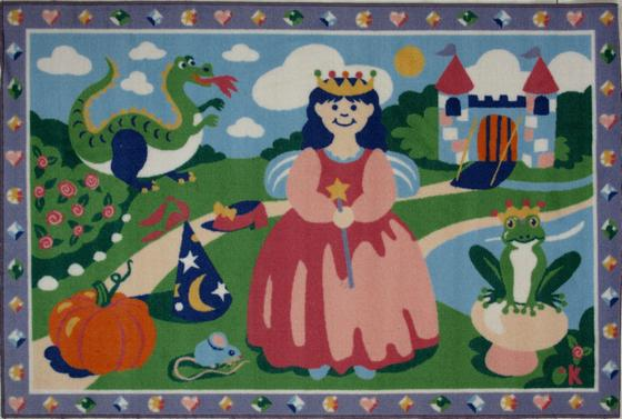 Fun Rugs Olive Kids Happily Ever After OLK-004 Multi Area Rug