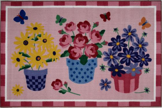 Fun Rugs Olive Kids Blossoms  Butterflies OLK-014 Multi Area Rug