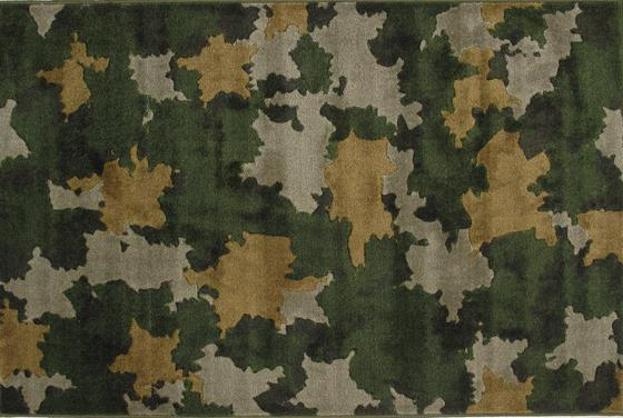 Fun Rugs Supreme Camouflage TSC-066 Multi Area Rug
