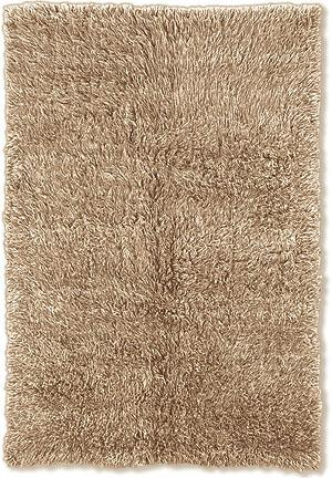 Linon Flokati 3A 2000 Grams Tan Area Rug - 44239