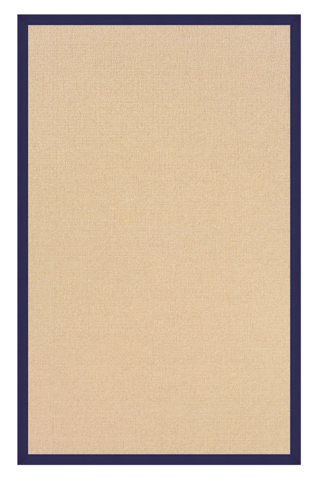 Linon Athena At0204 Sisal - Blue Area Rug| Size| 1' 10 x 2' 10 - 71141x1