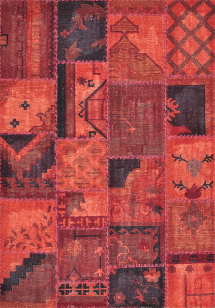 Loloi Beymen Bm-01 Red Area Rug Clearance| Size| 7'10'' x 11' with Free Pad - 68238x4