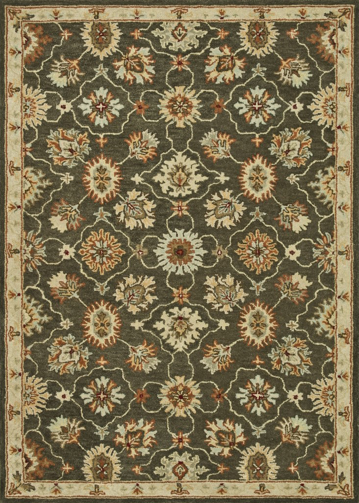 Loloi Fairfield Fairhff01 Charcoal Area Rug Clearance| Size| 5' x 7'6'' - 81075x1