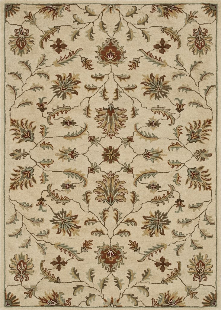 Loloi Fairfield Fairhff02 Ivory Area Rug Clearance| Size| 7'6'' x 9' with Free Pad - 81077x2