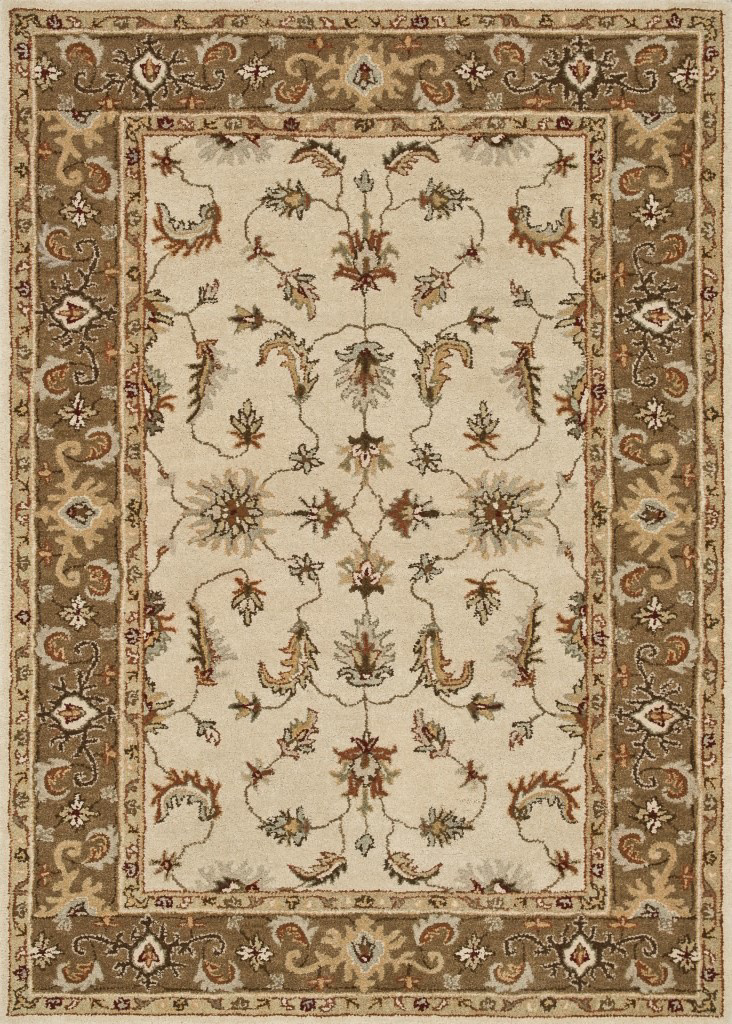 Loloi Fairfield Fairhff07 Ivory - Bronze Area Rug Clearance| Size| 7'6'' x 9' with Free Pad - 81087x2