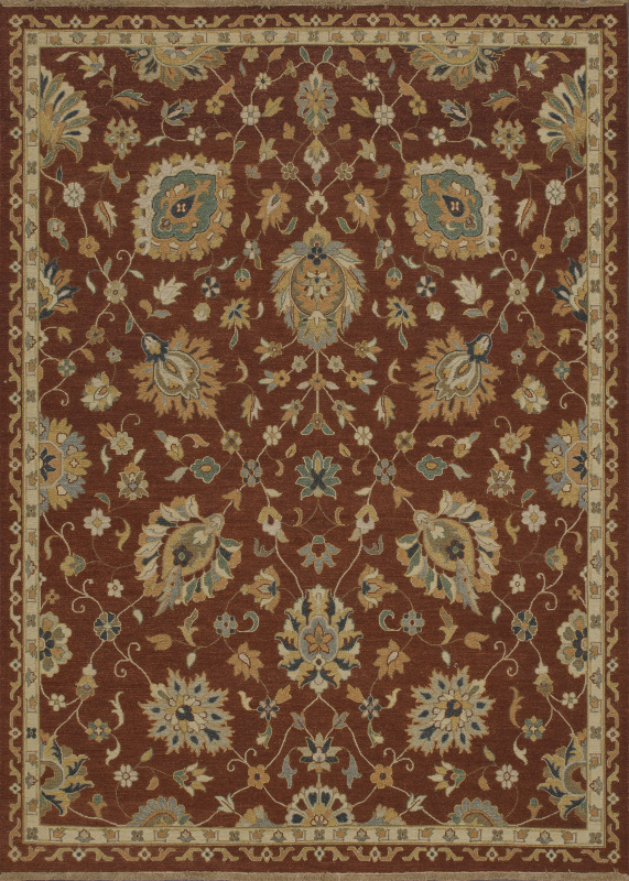 Loloi Laurent Le-01 Rust Area Rug| Size| 5'6'' x 8'6'' with Free Pad - 92178x2