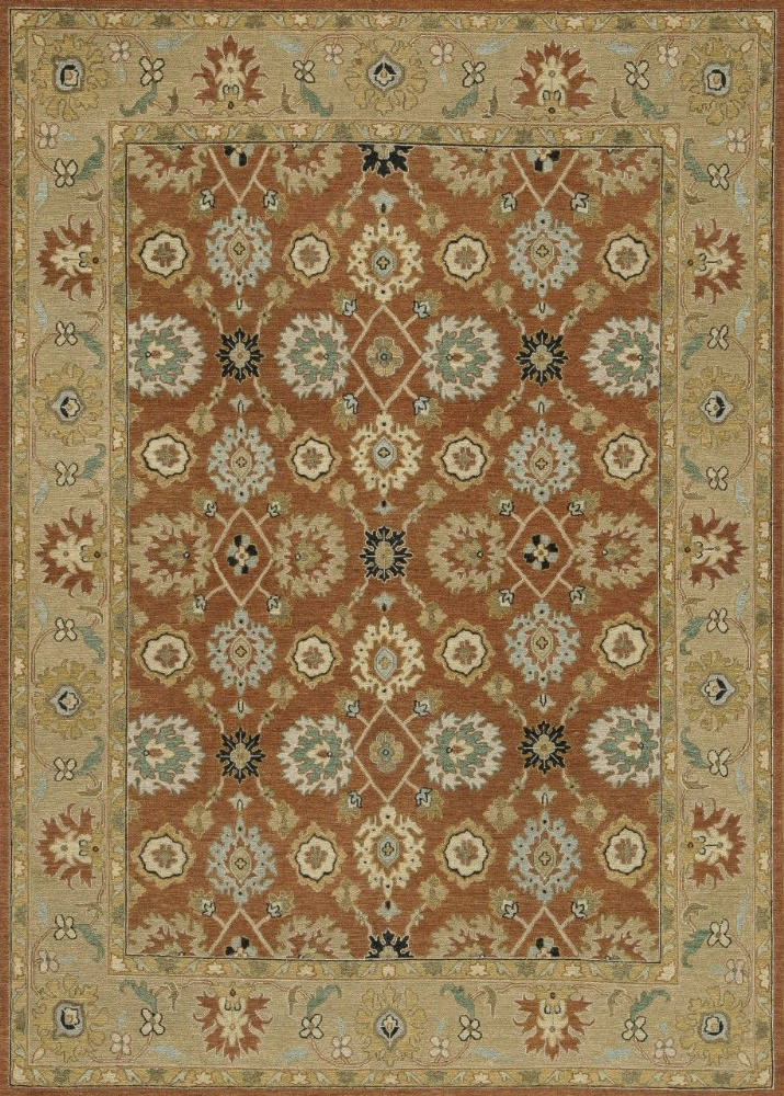 Loloi Laurent Le-02 Redwood - Moss Area Rug| Size| 5'6'' x 8'6'' with Free Pad - 92180x2