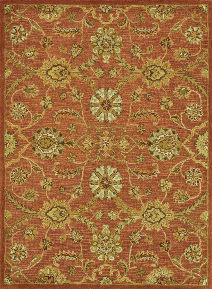 Loloi Maxwell Mx-02 Rust Area Rug Clearance| Size| Returnable Sample Swatch - 68419x5