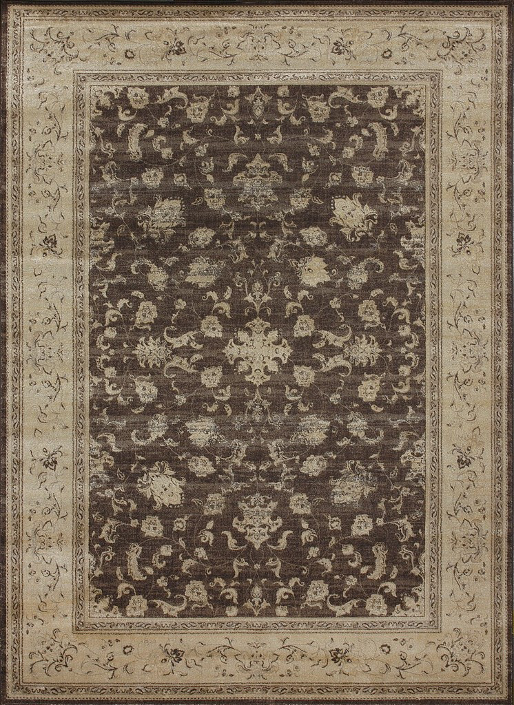 Loloi Mystique MY-02 Mocha - Flax Area Rug Clearance| Size| 9'8'' x 12'8'' with Free Pad - 54077x5