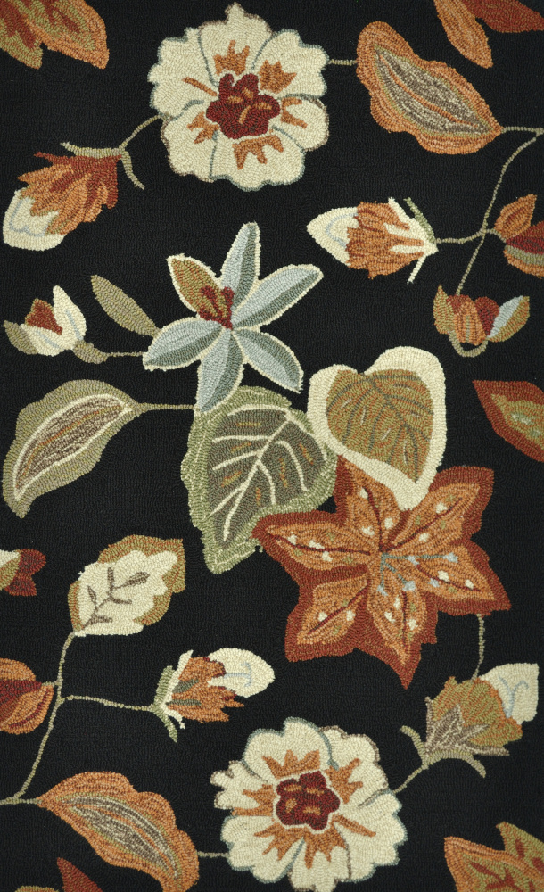 Loloi Summerton Sumrssc19 Black-Rust Area Rug Clearance| Size| 2'3'' x 3'9'' - 81150x2