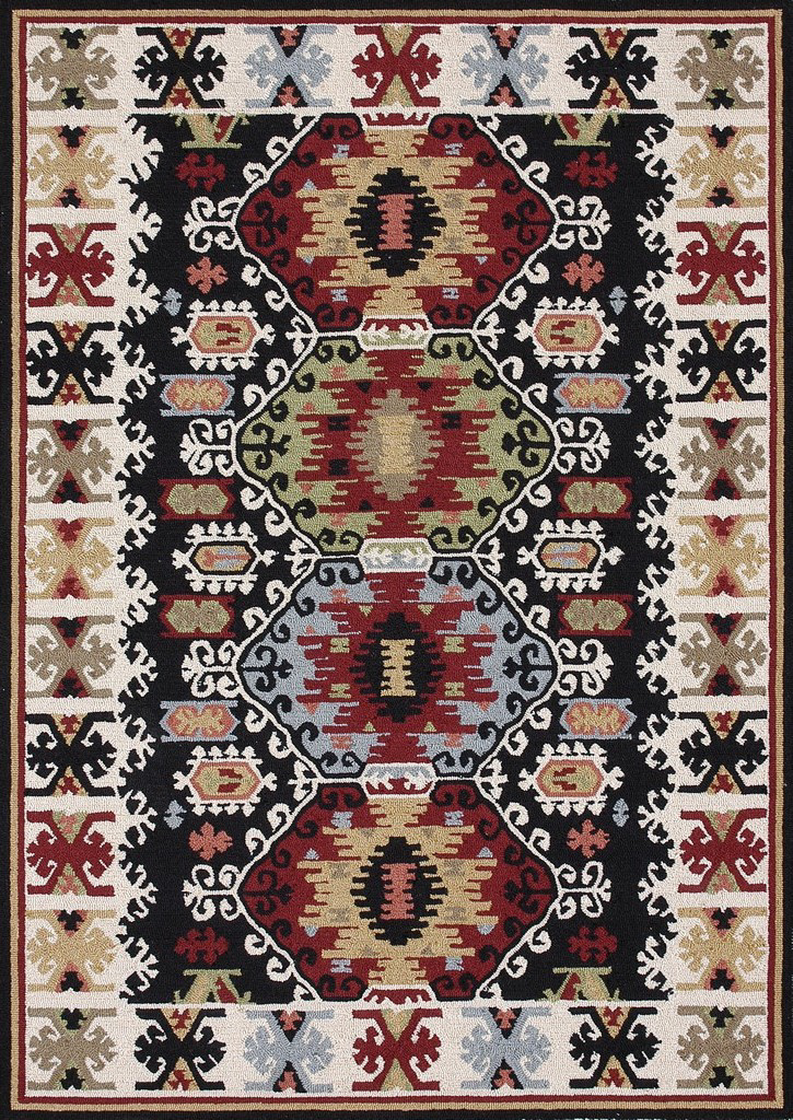 Loloi Taos TO-01 Black Area Rug Clearance| Size| Returnable Sample Swatch - 53959x5