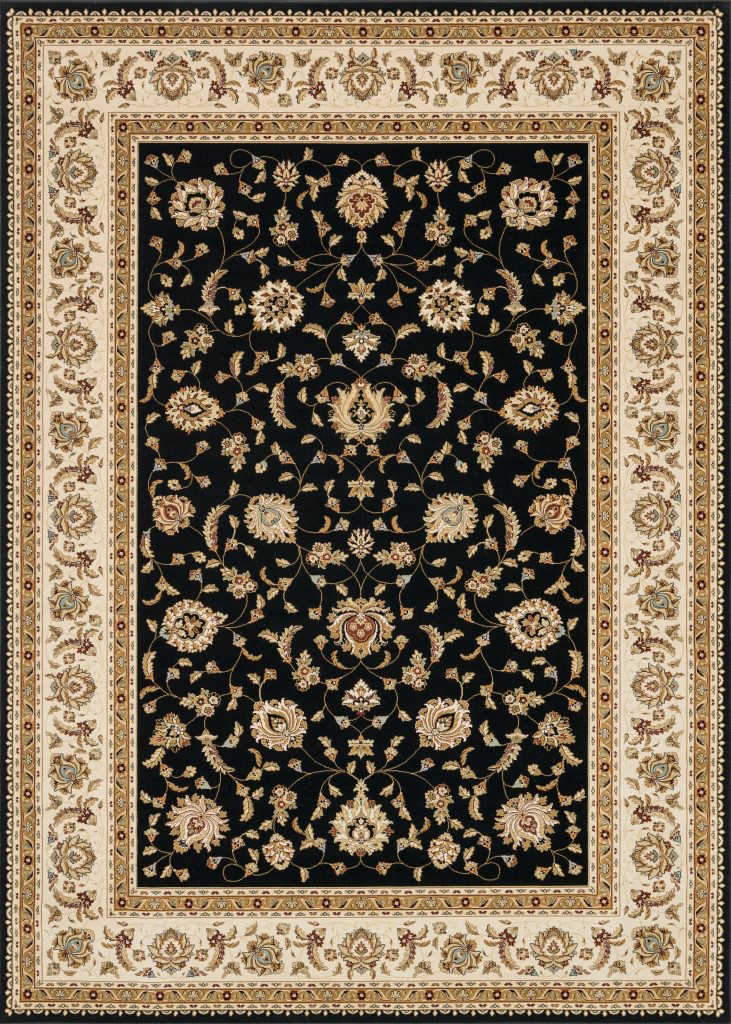 Loloi Welbourne Wl-05 Black-Ivory Area Rug| Size| Returnable Sample Swatch - 37941x10