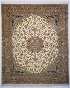 Lotfy and Sons Narmada 24 Ivory-Light Rose Area Rug