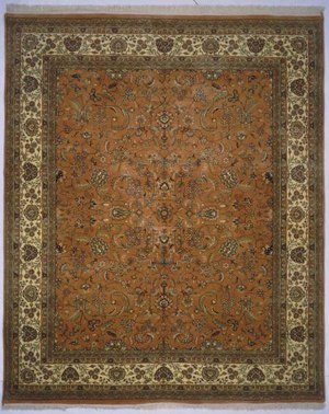 Lotfy and Sons Narmada 320 Light Rose-Ivory Area Rug