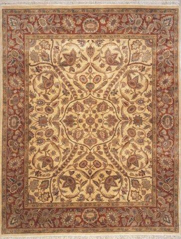 Lotfy and Sons Majestic 203 Gold-Rose Area Rug