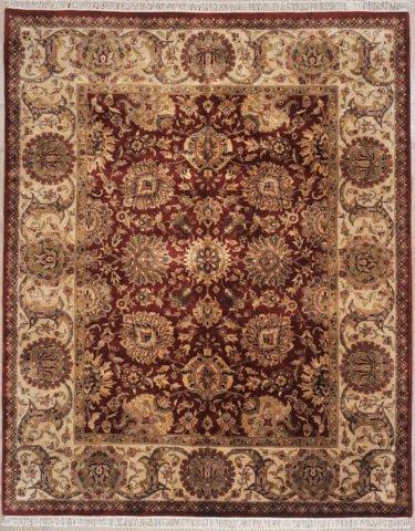 Lotfy and Sons Majestic 920 Burgundy-Gold Area Rug