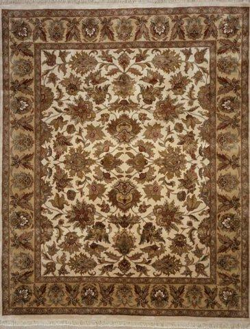 Lotfy and Sons Majestic S-17 Cream-Gold Area Rug