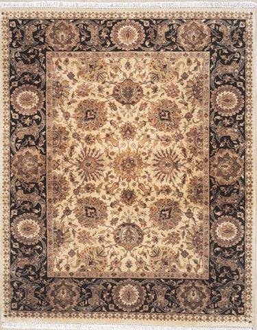 Lotfy and Sons Majestic 920 Gold-Black Area Rug